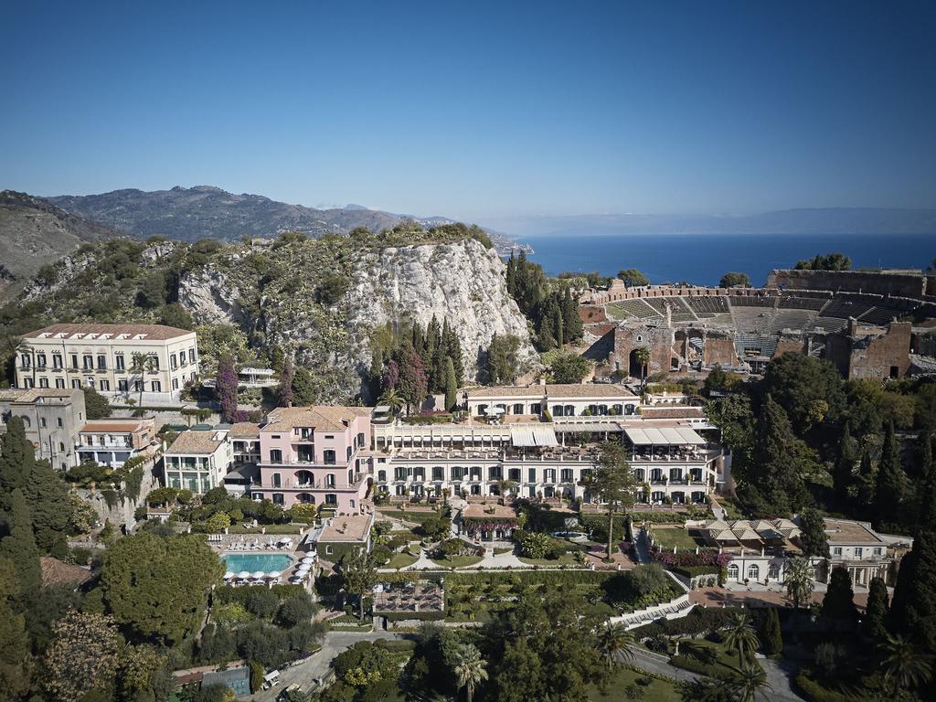 タオルミーナのホテル