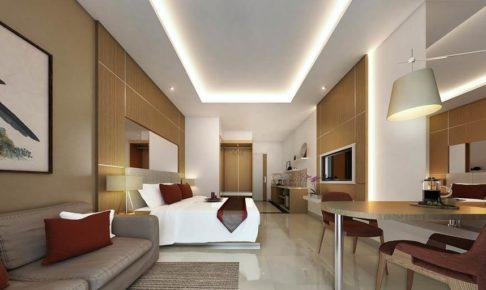 ジンバランのホテル