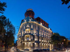 リヴィウのホテル