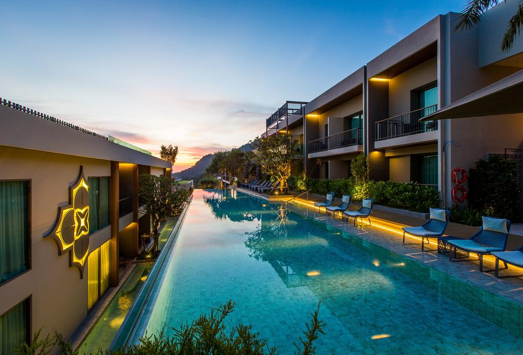 パトンビーチのホテル