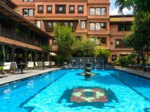 カトマンズのホテル