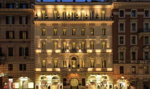 ローマのホテル_1